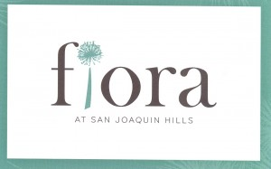 The Fiora development in San Joaquin Hills, Laguna Niguel